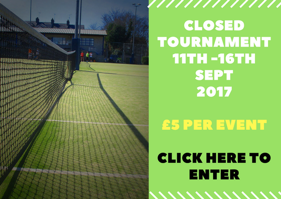 recent tennis tournament